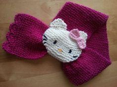 Discover thousands of images about Johkunlaiset askareet: Kettuhuivin innoittamana Crochet Kids Hats, Baby Hats Knitting, Crochet Bunny, Knitting For Kids, Crochet Scarves, Baby Knitting Patterns, Hand Knitting, Crochet Patterns, Knitting Needles