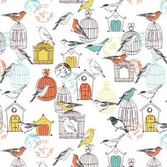 Emily Kiddy: Bird Inspired Prints
