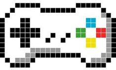 You searched for: GeekMeaLife! Discover the unique items that GeekMeaLife creates. At Etsy, we pride. Easy Pixel Art, Pixel Art Grid, Pixel Art Templates, Perler Bead Templates, Graph Paper Art, Hama Beads Patterns, Beading Patterns, Image Pixel Art, Minecraft Pixel Art
