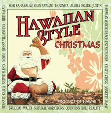 various artists hawaiian style christmas cd tropical christmas hula girl leis - Hawaiian Merry Christmas Song