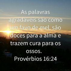 Provérbios 16:24