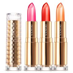 Makeup Batom Moisturizer Lip Stick Balm Long Lasting Temperature Change Color Jelly Lipstick Lips Cosmetics #Affiliate