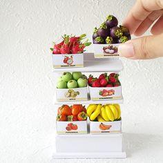 Miniature fruits By Thaiminiature
