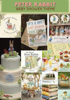 For A Classic Shower: | Peter Rabbit Adorable Baby Shower Theme Inspired By Children's Books