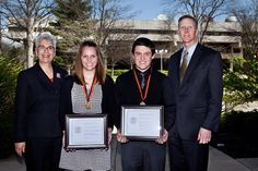 Anderson University recognized four seniors for their athletic and academic achievements during honors chapel on April 21. Learn more: http://anderso.nu/honors-chapel