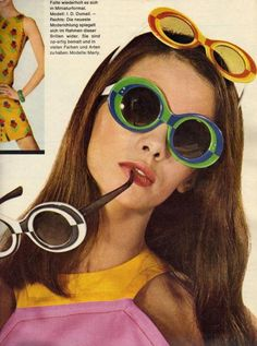 '60s sunglasses fashions.