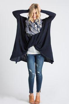 Cute Sweaters, Cute Cardigans for Women, Surplice Sweater, Women's Fashion