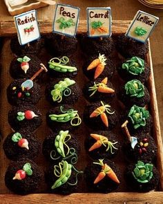 Vege cup cakes