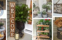 47 Rustic Farmhouse Porch Decor Ideas to Show Off This Season