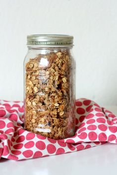 Everyday Reading - Practical Family Living for Book Loving Parents: My Daily Breakfast Granola