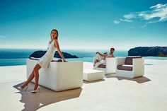 Ulm Collection for Vondom / Ramon Esteve Studio Terrasse Design, Casa Clean, Villa, Lounge Chair, Sofa, Indoor Outdoor, Outdoor Stuff, Outdoor Lounge, Shopping