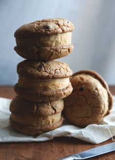 Pumpkin ice cream sandwiches » The Tart Tart