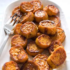 America's Test Kitchen: Roasted Sweet Potatoes.
