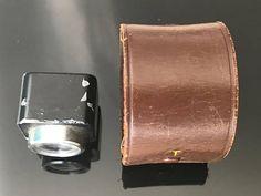 Voigtlander Kontur 6x6 ViewfinderLeather Case