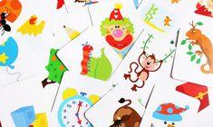 """Найдена ещё одна замечательная игра """"Живые картинки"""" Оригинальная игра содержит 32 двусторонние карточки. Как гласит инструкция, игра для детей 4+, но можно играть и с малышами, при этом не обязательно делать карточки двусторонними. 1. Найди отличие. Покажите ребенку две карточки..."""