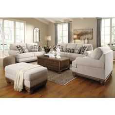 Ideas to decorated your own living room includes different styles. Darby Home Co Guttenberg Configurable Living Room Set 4 Piece Living Room Set, Living Room Sets, Living Room Modern, Living Room Designs, Living Room Decor, Small Living, White Living Room Set, Traditional Living Room Furniture, Furniture Layout
