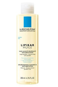 La Roche-Posay Lipikar Cleansing Oil  Whereas most gels are guilty of cleaning your skin, then leaving it high and dry, Lipikar actually feels like it's sealing all that moisture in. It's especially great if you're in a hurry and don't have time to slather on a body lotion afterwards—and the light scent won't compete with all the other fragrances that get layered on during your daily routine.