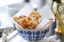 Homemade Parmesan Potato Chips (Chips)