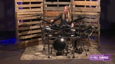 Roland TD-50KV-FC Full Compass Exclusive V-Drum Kit Playing Demo | Full Compass - YouTube