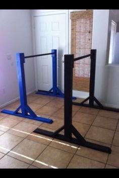 Diy home gymnastics bar