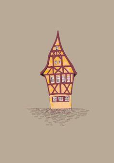 Rothenburg, Germany by Albyky