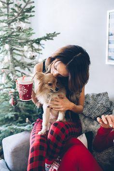 Christmas Pajamas, Cozy Christmas, Christmas Coffee, Christmas Time, Christmas Puppy, Christmas Morning, Christmas Wishes, Christmas Nails, Christmas Ideas