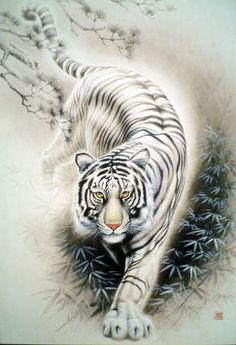 0f6fba0582ebb Image result for white and black friendly tiger tattoos | Tats ...