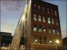 Louisville Slugger Museum & Factory.    Official Bat of Major League Baseball.  Home of the World's Biggest Baseball Bat.