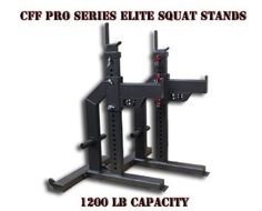 "CFF ""Pro Series Elite"" Heavy Duty Squat Stands - Black - Great for Cross Training, MMA, Boxing - to start coupon budget Crossfit Equipment, Squat Stands, Home Gym Design, Mma Boxing, Discount Universe, Cross Training, Squats, Fitness Motivation, Fitness Gear"