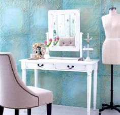 Lissa Vanity Table & Mirror from Indonesia at Cost Plus World Market