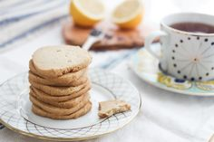 An easy, freezable dough, these lavender shortbread cookies are great for surprise guests and midnight snacks. AIP + Paleo tweaks, grain free, and delicious.