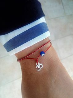Excited to share this item from my shop: Om jewelry Om bracelet Red string Evil eye bracelet Inspirational womens gift Yoga jewelry Ohm bracelet Reiki jewelry Spiritual gift Zen Evil Eye Jewelry, Evil Eye Bracelet, Spiritual Jewelry, Yoga Jewelry, Greek Evil Eye, Yoga Bracelet, Bracelet Men, Red String Bracelet, Bracelets With Meaning
