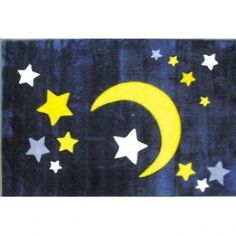 Fun Rugs Stars TSC-227 - Kids - Rugs - HomeFabrics