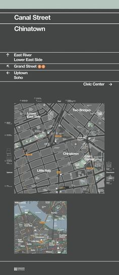 New pedestrian maps for NYC. By PentaCity, a group made up of graphic design studio Pentagram, map makers City ID and industrial designers Billings Jackson - tidy work. Map Signage, Wayfinding Signs, Signage Design, Environmental Graphic Design, Environmental Graphics, Poster Design, Map Design, Helmut Schmid, Navigation Design