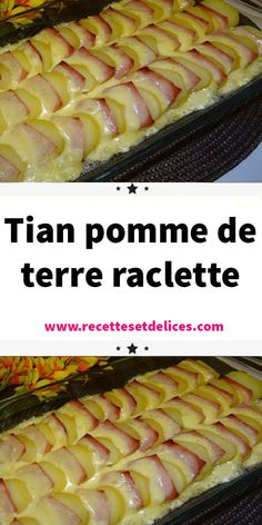 Tian pomme de terre raclette - Latest Sports News, Scores, Stats, Videos and Fantasy Sports Cuisine Diverse, Everyday Food, Hot Dog Buns, Parfait, Chicken Recipes, Vegan Recipes, Food Porn, Food And Drink, Menu