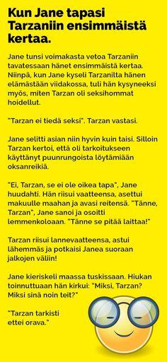 tarzan_jane_2 Haha Funny, Lol, Funny Stuff, T 62, Tarzan And Jane, Funny Photos, Finland, I Laughed, Jokes