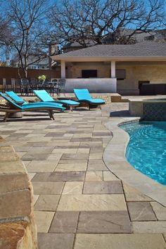 Pools And Patios Backyard Gazebo Backyard Patio Designs . Travertine Pool Coping Is Perfect For Hotel Pools.