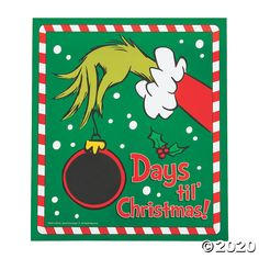 Grinch Christmas Decorations, Grinch Ornaments, Whoville Christmas, Christmas Crafts For Gifts, Christmas Signs, Christmas Holidays, Christmas Hallway, Days Till Christmas, Beach Christmas