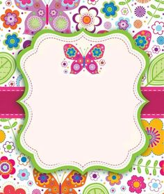 Welcome to Vedanshi's Birthday Party Butterfly Party, Butterfly Birthday, Borders For Paper, Borders And Frames, Doodle Frames, Diy And Crafts, Paper Crafts, School Frame, Clip Art