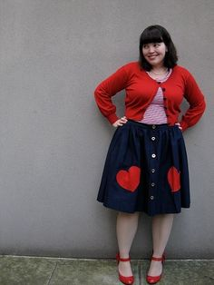 Plus Size Fashion - this looks like a great fall look