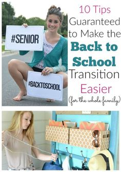 Back to school is always a fun time for parents, but sometimes, it can make kids feel a bit uneasy. It's especially hard for kids that have been out on a long b