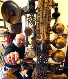 Steampunk Decorated Home