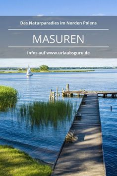 Die Masuren in Polen – ein Naturparadies Masuria, located in the north of Poland, is one of the most beautiful Europe Destinations, Travel Around The World, Around The Worlds, Paraiso Natural, Vacations To Go, Reisen In Europa, Tenerife, Destination Voyage, Champs
