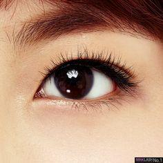 연예인 인조속눈썹 밍크래쉬 1호 k-beauty human hair eyelash [minklash NO.1]