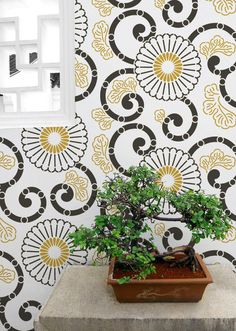 Damask Wall Stencils For Easy DIY Decorating   Wall Decor Designer Wallpaper  Stenciling And Painting Pattern   Royal Design Studio | Pinterest | Damask  Wall ...