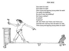 sister for sale shel silverstein - Google Search