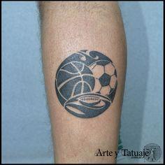 Tattoo Studio, Rugby Tattoos, Inked, Symbolic Tattoos, Tattos, Handball, Art Studios, Tattoo Artists, Argentina