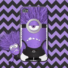 Despicable Me Evil Minion Custom Phone Case (14) For iPhone 4/4s, iPhone 5/5s, iPhone 5c, Samsung Galaxy S4, Samsung Galaxy S3 Custom Cover by NouveauGypsyDesigns, $11.99