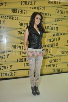 *updated* Shraddha Kapoor launches Forever 21 |