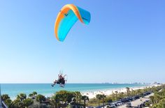 High flying fun in Pass-A-Grille Clearwater Beach Florida, Florida Beaches, Crystal Clear Water, Arts And Entertainment, Beautiful Beaches, Night Life, Stuff To Do, Explore, Vacation